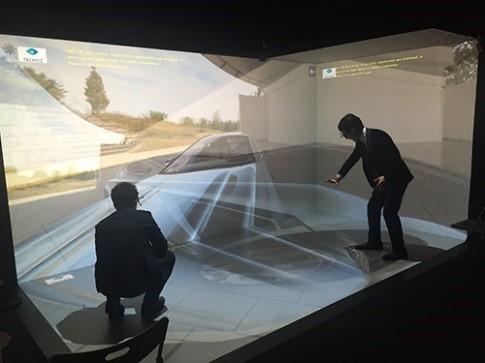 3D VRの没入体験デモ